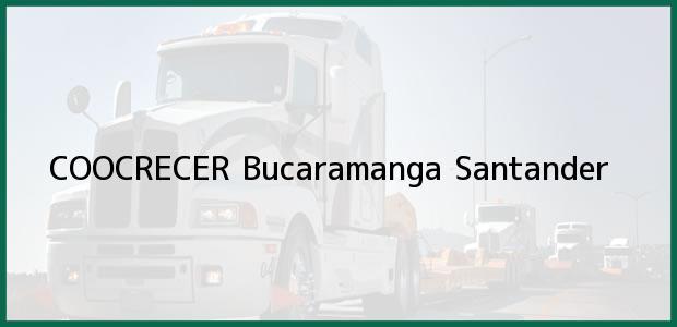Teléfono, Dirección y otros datos de contacto para COOCRECER, Bucaramanga, Santander, Colombia