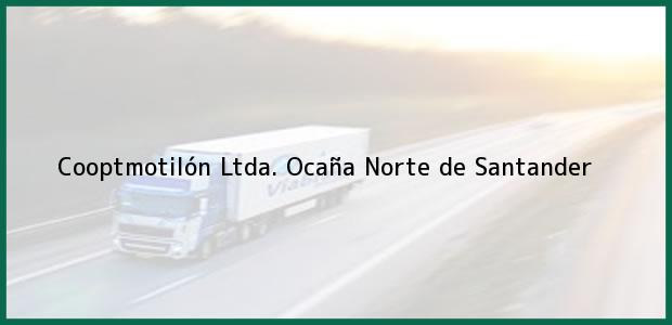 Teléfono, Dirección y otros datos de contacto para Cooptmotilón Ltda., Ocaña, Norte de Santander, Colombia