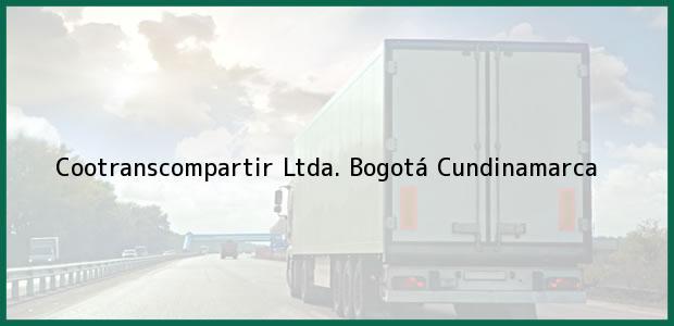 Teléfono, Dirección y otros datos de contacto para Cootranscompartir Ltda., Bogotá, Cundinamarca, Colombia