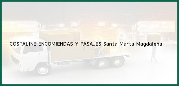 Teléfono, Dirección y otros datos de contacto para COSTALINE ENCOMIENDAS Y PASAJES, Santa Marta, Magdalena, Colombia