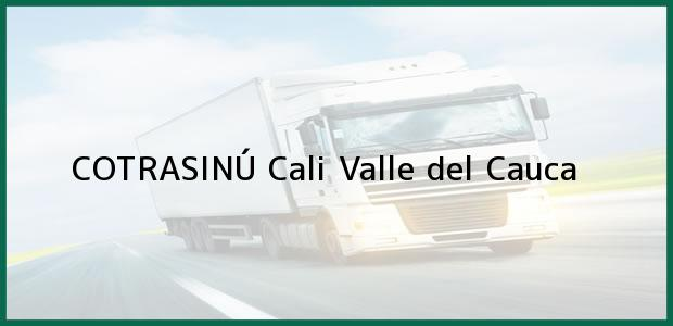 Teléfono, Dirección y otros datos de contacto para COTRASINÚ, Cali, Valle del Cauca, Colombia