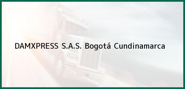 Teléfono, Dirección y otros datos de contacto para DAMXPRESS S.A.S., Bogotá, Cundinamarca, Colombia