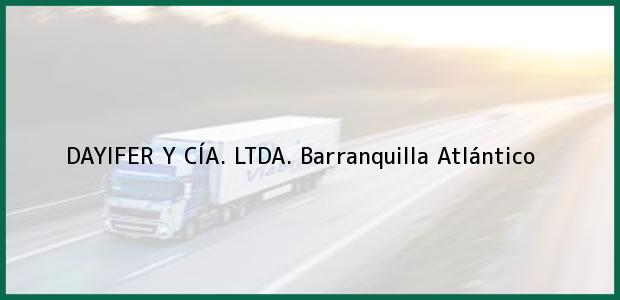 Teléfono, Dirección y otros datos de contacto para DAYIFER Y CÍA. LTDA., Barranquilla, Atlántico, Colombia