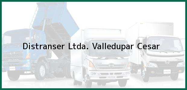 Teléfono, Dirección y otros datos de contacto para Distranser Ltda., Valledupar, Cesar, Colombia