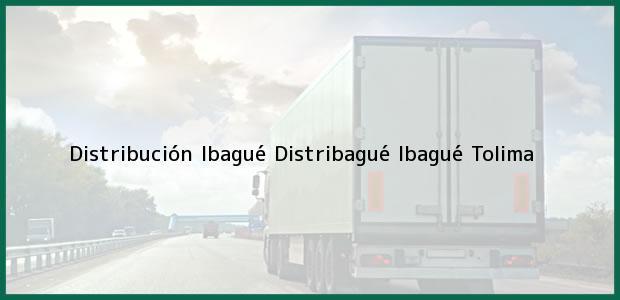 Teléfono, Dirección y otros datos de contacto para Distribución Ibagué Distribagué, Ibagué, Tolima, Colombia