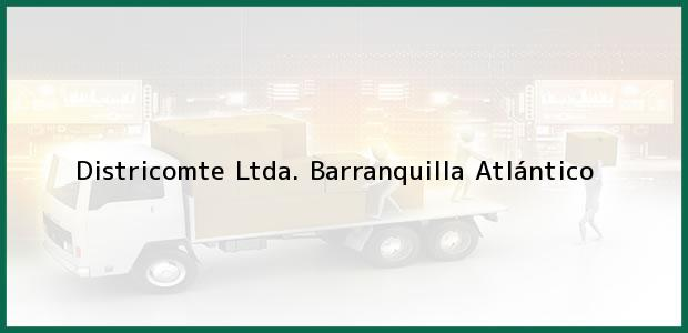 Teléfono, Dirección y otros datos de contacto para Districomte Ltda., Barranquilla, Atlántico, Colombia