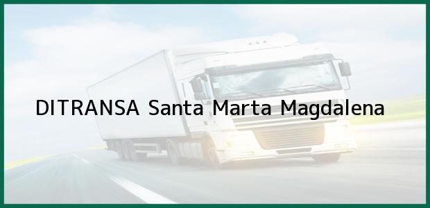 Teléfono, Dirección y otros datos de contacto para DITRANSA, Santa Marta, Magdalena, Colombia