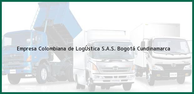 Teléfono, Dirección y otros datos de contacto para Empresa Colombiana de LogÚstica S.A.S., Bogotá, Cundinamarca, Colombia