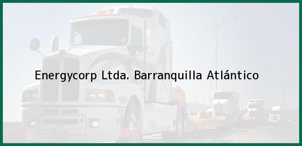 Teléfono, Dirección y otros datos de contacto para Energycorp Ltda., Barranquilla, Atlántico, Colombia