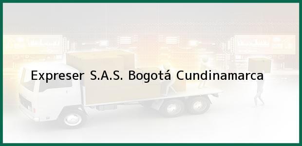 Teléfono, Dirección y otros datos de contacto para Expreser S.A.S., Bogotá, Cundinamarca, Colombia