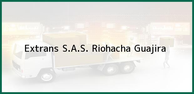 Teléfono, Dirección y otros datos de contacto para Extrans S.A.S., Riohacha, Guajira, Colombia