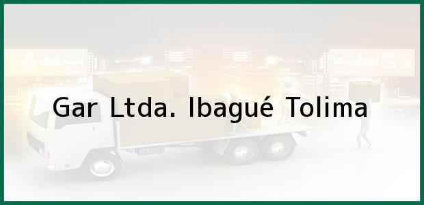Teléfono, Dirección y otros datos de contacto para Gar Ltda., Ibagué, Tolima, Colombia