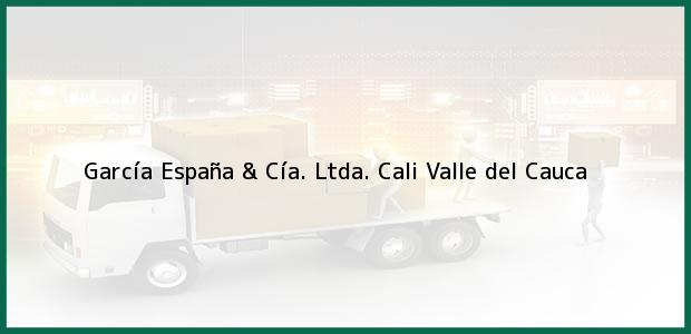 Teléfono, Dirección y otros datos de contacto para García España & Cía. Ltda., Cali, Valle del Cauca, Colombia