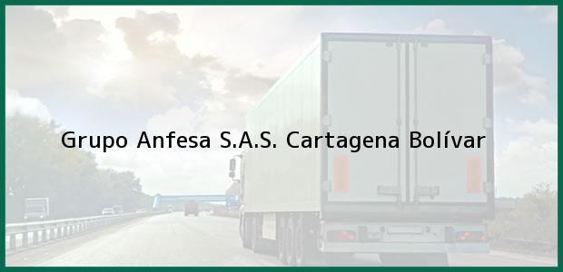 Teléfono, Dirección y otros datos de contacto para Grupo Anfesa S.A.S., Cartagena, Bolívar, Colombia