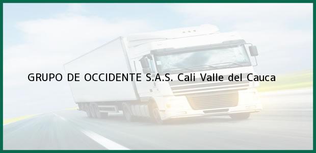 Teléfono, Dirección y otros datos de contacto para GRUPO DE OCCIDENTE S.A.S., Cali, Valle del Cauca, Colombia