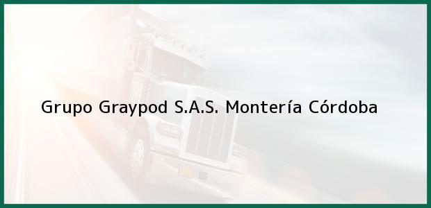 Teléfono, Dirección y otros datos de contacto para Grupo Graypod S.A.S., Montería, Córdoba, Colombia