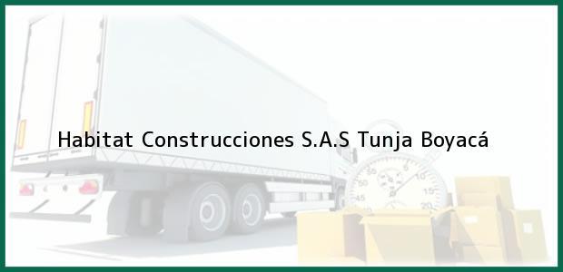 Teléfono, Dirección y otros datos de contacto para Habitat Construcciones S.A.S, Tunja, Boyacá, Colombia