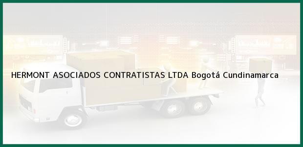 Teléfono, Dirección y otros datos de contacto para HERMONT ASOCIADOS CONTRATISTAS LTDA, Bogotá, Cundinamarca, Colombia