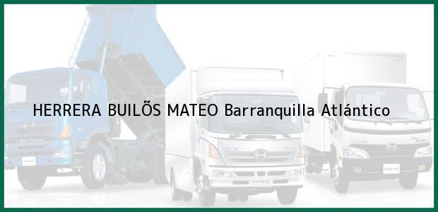 Teléfono, Dirección y otros datos de contacto para HERRERA BUILÕS MATEO, Barranquilla, Atlántico, Colombia