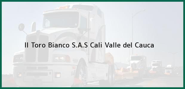 Teléfono, Dirección y otros datos de contacto para Il Toro Bianco S.A.S, Cali, Valle del Cauca, Colombia