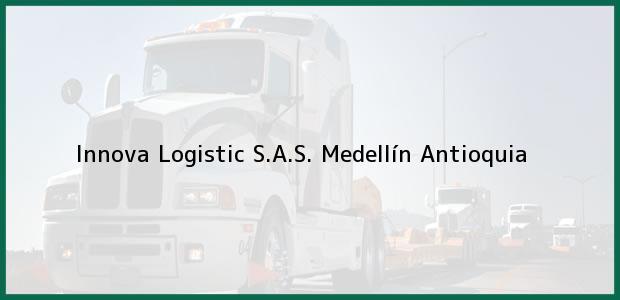 Teléfono, Dirección y otros datos de contacto para Innova Logistic S.A.S., Medellín, Antioquia, Colombia