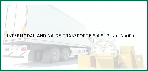 Teléfono, Dirección y otros datos de contacto para INTERMODAL ANDINA DE TRANSPORTE S.A.S., Pasto, Nariño, Colombia