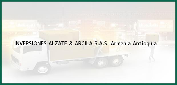 Teléfono, Dirección y otros datos de contacto para INVERSIONES ALZATE & ARCILA S.A.S., Armenia, Antioquia, Colombia