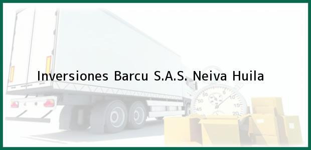 Teléfono, Dirección y otros datos de contacto para Inversiones Barcu S.A.S., Neiva, Huila, Colombia