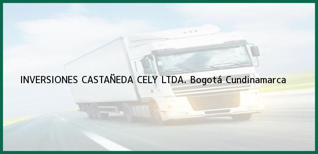 Teléfono, Dirección y otros datos de contacto para INVERSIONES CASTAÑEDA CELY LTDA., Bogotá, Cundinamarca, Colombia