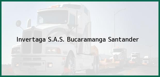 Teléfono, Dirección y otros datos de contacto para Invertaga S.A.S., Bucaramanga, Santander, Colombia