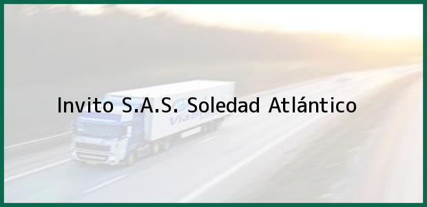 Teléfono, Dirección y otros datos de contacto para Invito S.A.S., Soledad, Atlántico, Colombia