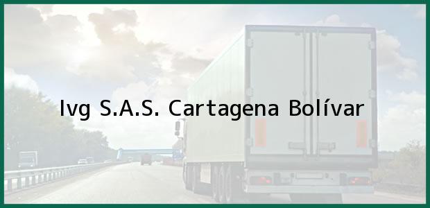 Teléfono, Dirección y otros datos de contacto para Ivg S.A.S., Cartagena, Bolívar, Colombia