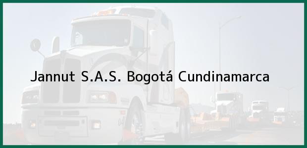 Teléfono, Dirección y otros datos de contacto para Jannut S.A.S., Bogotá, Cundinamarca, Colombia