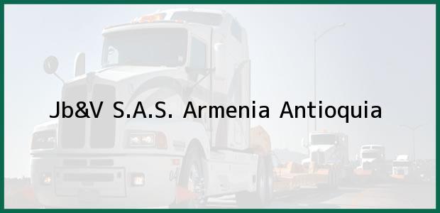Teléfono, Dirección y otros datos de contacto para Jb&V S.A.S., Armenia, Antioquia, Colombia