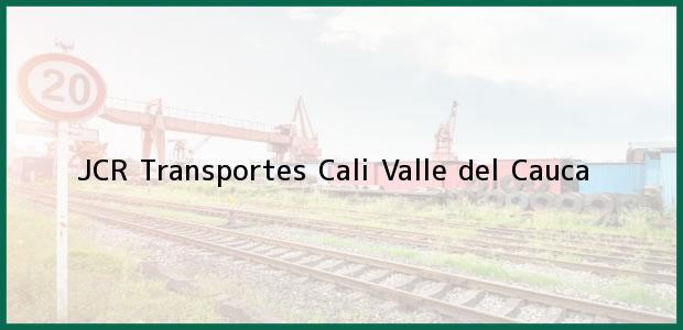Teléfono, Dirección y otros datos de contacto para JCR Transportes, Cali, Valle del Cauca, Colombia