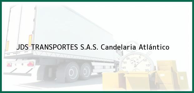 Teléfono, Dirección y otros datos de contacto para JDS TRANSPORTES S.A.S., Candelaria, Atlántico, Colombia