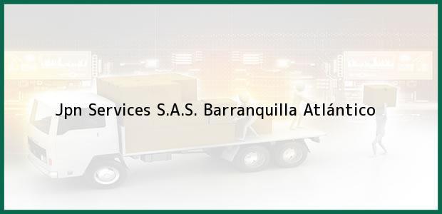 Teléfono, Dirección y otros datos de contacto para Jpn Services S.A.S., Barranquilla, Atlántico, Colombia
