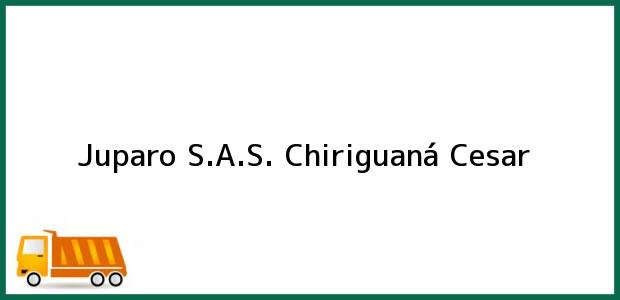 Teléfono, Dirección y otros datos de contacto para Juparo S.A.S., Chiriguaná, Cesar, Colombia