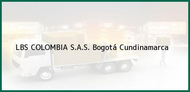 Teléfono, Dirección y otros datos de contacto para LBS COLOMBIA S.A.S., Bogotá, Cundinamarca, Colombia