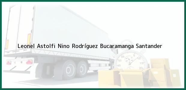 Teléfono, Dirección y otros datos de contacto para Leonel Astolfi Nino Rodríguez, Bucaramanga, Santander, Colombia