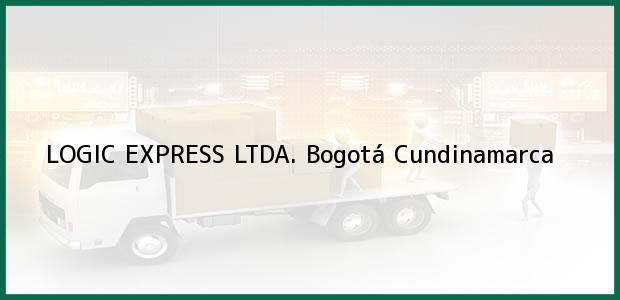 Teléfono, Dirección y otros datos de contacto para LOGIC EXPRESS LTDA., Bogotá, Cundinamarca, Colombia