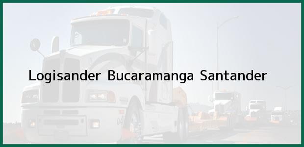 Teléfono, Dirección y otros datos de contacto para Logisander, Bucaramanga, Santander, Colombia