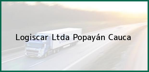 Teléfono, Dirección y otros datos de contacto para Logiscar Ltda, Popayán, Cauca, Colombia
