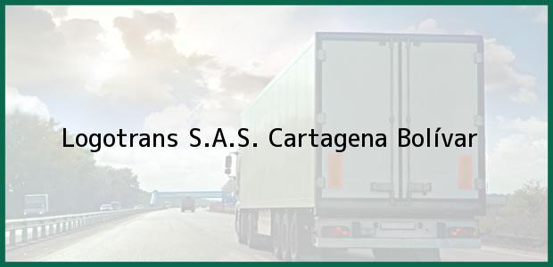 Teléfono, Dirección y otros datos de contacto para Logotrans S.A.S., Cartagena, Bolívar, Colombia