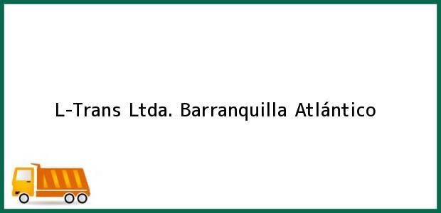 Teléfono, Dirección y otros datos de contacto para L-Trans Ltda., Barranquilla, Atlántico, Colombia
