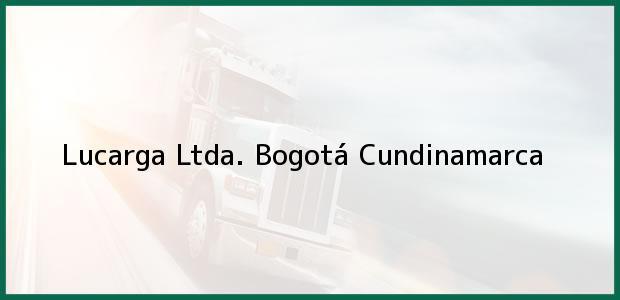Teléfono, Dirección y otros datos de contacto para Lucarga Ltda., Bogotá, Cundinamarca, Colombia