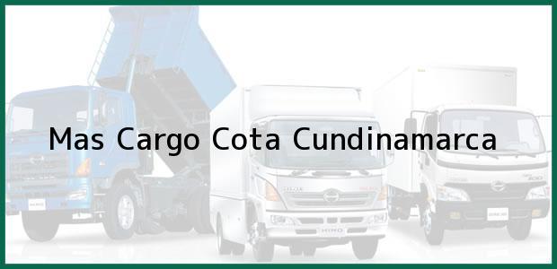 Teléfono, Dirección y otros datos de contacto para Mas Cargo, Cota, Cundinamarca, Colombia