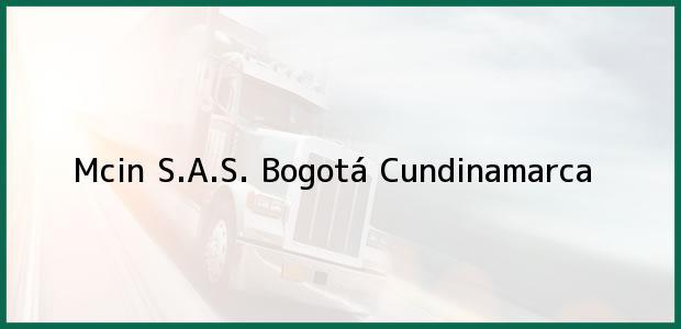 Teléfono, Dirección y otros datos de contacto para Mcin S.A.S., Bogotá, Cundinamarca, Colombia