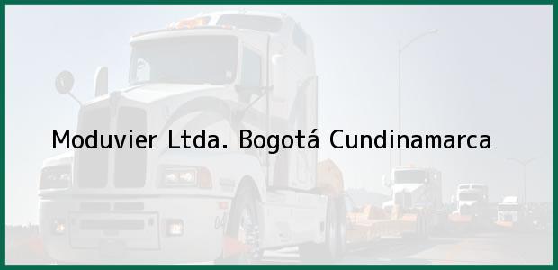 Teléfono, Dirección y otros datos de contacto para Moduvier Ltda., Bogotá, Cundinamarca, Colombia