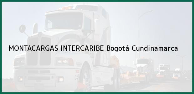 Teléfono, Dirección y otros datos de contacto para MONTACARGAS INTERCARIBE, Bogotá, Cundinamarca, Colombia